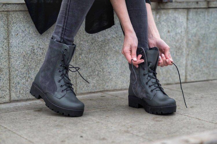 С чем носить грубые ботинки чтобы выглядели модно и стильно