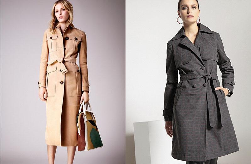 Пальто и тренч